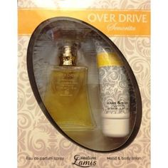 Gift Set Over Drive Senorita Perfume 3.3 Oz with Hand & Body Lotion By Creation Lamis (Misc.)
