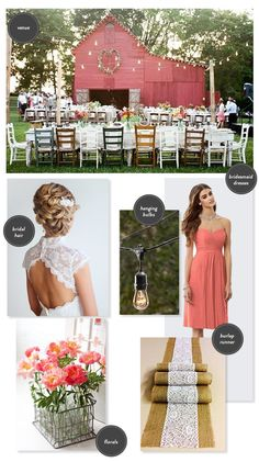 rustic farmhouse wedding ideas