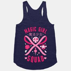 Magic Girl Squad | HUMAN | T-Shirts, Tanks, Sweatshirts and Hoodies