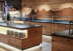 DI Daniel Kotrasch – Your architect and joiner in Schladming Dachstein regionHotel Matschner - buffet design