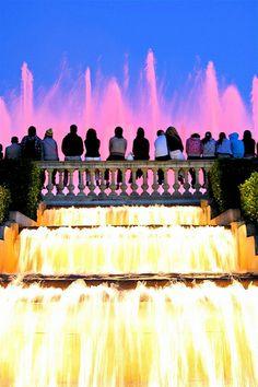 Fontana Magica,  Barcelona  Catalonia