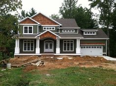 Image result for paint colors for craftsman home exterior