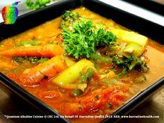 Alkaline Diet Recipes, Quantum Alkaline Cuisine, Try Live  & Nutritious, Alkaline Soups, Like This Baby Vegetable Broth @ www.harradinehealth.com