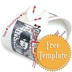 Box Template  http://stampington.com/the-studio/tempting-templates/free-tempting-template-White-Box