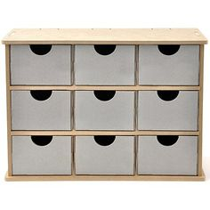 "Kaisercraft ""Beyond the Page"" MDF Storage Drawers"