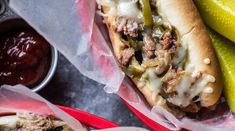 Philly Cheesesteak classique — Roxanne Cuisine