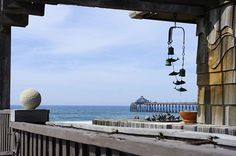 Beach Deck View - View from a deck overlooking the Imperial Beach Pier in California. I want this view from my deck.