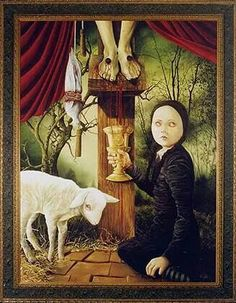 Oil painter that specializing in surrealist and fantasy art. Arte Obscura, Oil Painters, Weird Art, Large Painting, Macabre, Occult, Dark Art, Love Art, Amazing Art