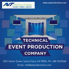 Avt #Productions consistently #design, create and produce engaging events which deliver our clients objectives on time and on budget.