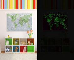 glow in dark map http://thisdayilove.blogspot.co.uk/2012/12/review-glow-in-dark-map.html