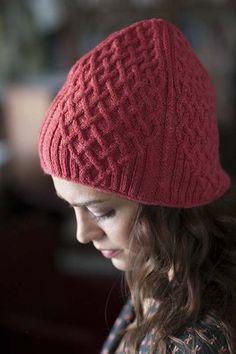 Straight Maze Hat - Media - Knitting Daily