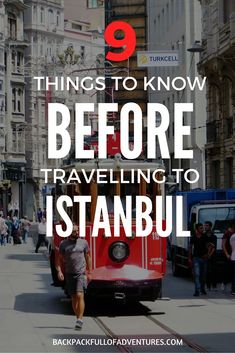 things to know before travelling to Istanbul