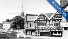 Bromsgrove, High Street into St John's Street  c1965