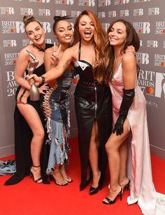 Little Mix Brit Awards 2017 Little Mix 2017, Little Mix Brits, Little Mix Style, Jesy Nelson, Dvb Dresden, Leigh Anne Pinnock Instagram, Meninas Do Little Mix, Brit Awards 2017, Little Mix Photoshoot