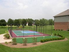 Dream Backyard Basketball Court Outdoor Living