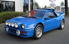 Learn more about Incredible 1986 Ford Group B Rally Car… on Bring a Trailer, the home of the best vintage and classic cars online. Ford Rs, Car Ford, Ford Trucks, 4x4 Trucks, Chevrolet Trucks, Diesel Trucks, Lifted Trucks, Autos Rally, Rally Car