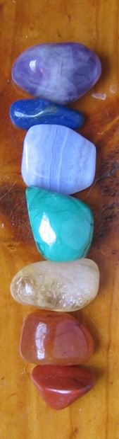 stones to open and attune the chakras