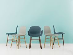 The Form collection by Simon Legald - Normann Copenhagen - iF Design Award 2016 Furniture Showroom, Retro Furniture, Classic Furniture, Colorful Furniture, Furniture Layout, Unique Furniture, Cheap Furniture, Rustic Furniture, Furniture Design