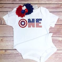 A personal favorite from my Etsy shop https://www.etsy.com/listing/398173421/america-birthday-bodysuit-2pc-set-w
