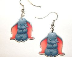 Disney Baby Dumbo the Elephant  Earrings Jewelry