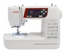 Janome Computerised Sewing Machine, From GUR Sewing Superstore - Best Prices on Janome Computerised Sewing Machine Guaranteed including Free UK Delivery. Found Janome Computerised Sewing Machine Cheaper? Sewing Patterns Free, Free Sewing, Sewing Tutorials, Sewing Tips, Janome, Modern Sewing Machines, Custom Baby Bedding, Quilt Kits, Sewing Basics