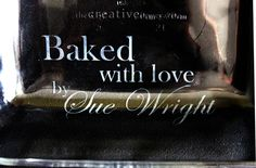 The Creative Imperative: Quick Gifts: Etched Glass Baking Dish