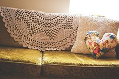 I think I need to buy the pattern for this doily-inspired blanket. And it only uses 2 skeins of acrylic yarn!