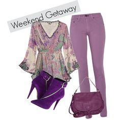 """Weekend getaway"" by tarlily on Polyvore"