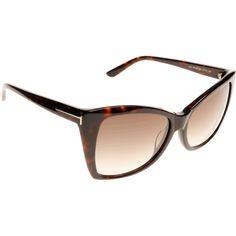920e11df6e Tom Ford Carli FT0295 52F 57 Sunglasses