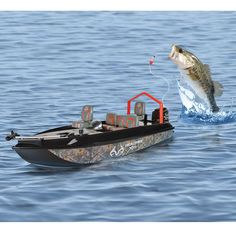 Fish Catching RC Boat Allows You to Fish Remotely -  #boat #fishing #rc
