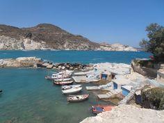 Mantrakia village Milos Island