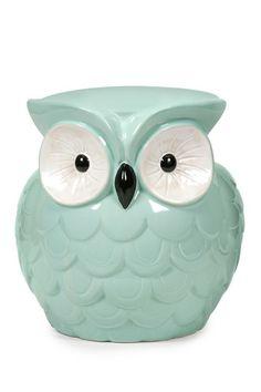 Hoot Owl Aqua Garden Stool by Imax on @HauteLook