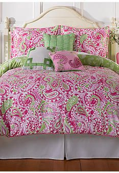 Love this for miss adelynn's room  Home Accents® Lisa Bedding Collection