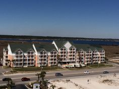 Grand Beach Condominiums..located directly across from the gulf with view of the State Park beaches