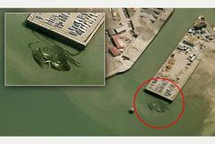 10 imágenes inexplicables de Google Earth - Curiosidades de Internet. http://www.curiosidadesdeinternet.com/10-imagenes-inexplicables-de-google-earth/
