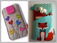 Resultado de imagen para porta telefonos moviles en cuerina Iphone Cases Disney, Iphone Cases Cute, Felt Crafts, Diy And Crafts, Arts And Crafts, Sewing Projects, Projects To Try, Homemade Black, Video Games For Kids