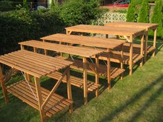 Greenhouse Staging Company offers a great selection of garden furniture, potting benches, folding and heavy duty greenhouse staging products to help your Greenhouse Staging, Outdoor Furniture Sets, Outdoor Decor, Potting Benches, Gardens, Image, Home Decor, Decoration Home, Room Decor