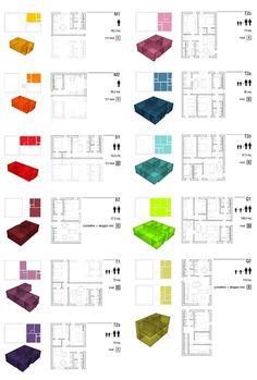 Il progetto CCCabita presentato nel repertorio Housingcontest ha teso principalmente a dimostrare, attraverso uno specifico contesto progettuale, la flessibilità e l'adattabilità del sistema alle più diverse esigenze di processo e di programma...