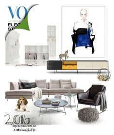 A Home Decor Collage From December 2016 Featuring Leather Furniture Lacquer Furniture And Beige Ottoman