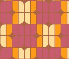mirrah_leaf_primrose fabric by holli_zollinger on Spoonflower - custom fabric