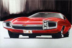 Late 1960s Chevrolet Rendering | Flickr : partage de photos !