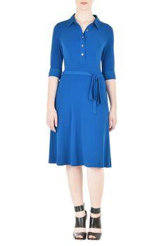 Jersey Shirt Dress | eShakti