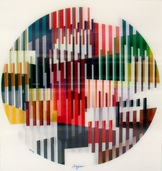 Yaacov Agam Original Signed and No. Agamograph on LiveAuctioneers Yaacov Agam, Lenticular Printing, Kinetic Art, Middle School Art, State Art, Color Themes, Pattern Art, Design Art, Modern Art