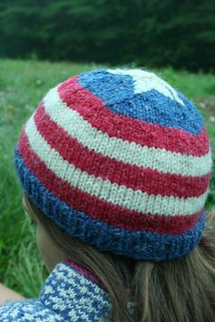 a6df220e5d3 Ravelry  4th of July Hat pattern by Mary Jane Mucklestone 4th Of July