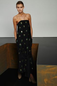Robe longue bustier Stella McCartney pre-fall automne-hiver 2015-2016