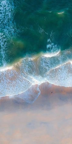 Exotic beach, aerial view, green sea waves, nature, wallpaper - Best of Wallpapers for Andriod and ios Ios 10 Wallpaper, Handy Wallpaper, Wallpaper Earth, Waves Wallpaper, Beach Wallpaper, Nature Wallpaper, Samsung Galaxy Wallpaper, Wallpaper Pictures, Mobile Wallpaper