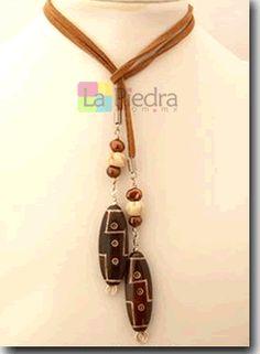 collar de Gamuza