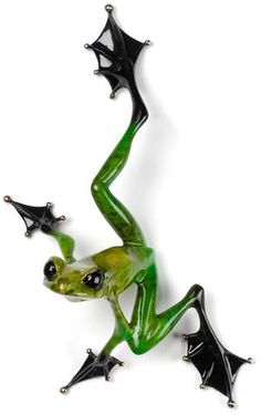 Frogman Hangin' Out Green