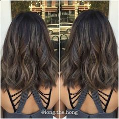 Hair Bundles - That Smokey Ash again. Perfect for Fall/Winter. #asian #asianhair #brunette