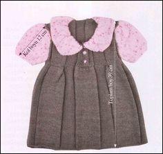 Anlatımlı Örgü Kız Bebek Hırka Modelleri | Hobi ve Örgü Örnekleri